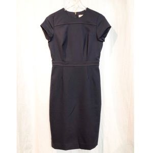 Tory Burch / navy midi dress